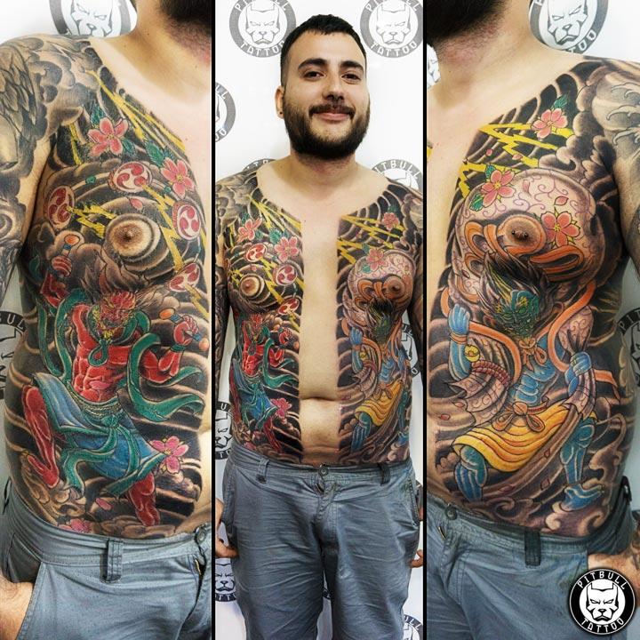 Customer of Pitbull Tattoo Phuket