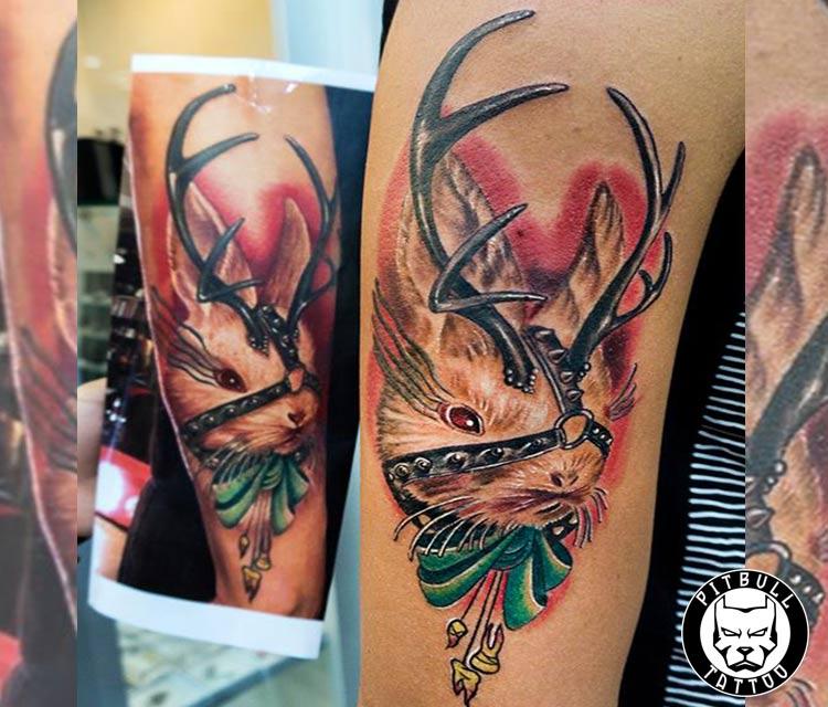 realistic color tattoo phuket