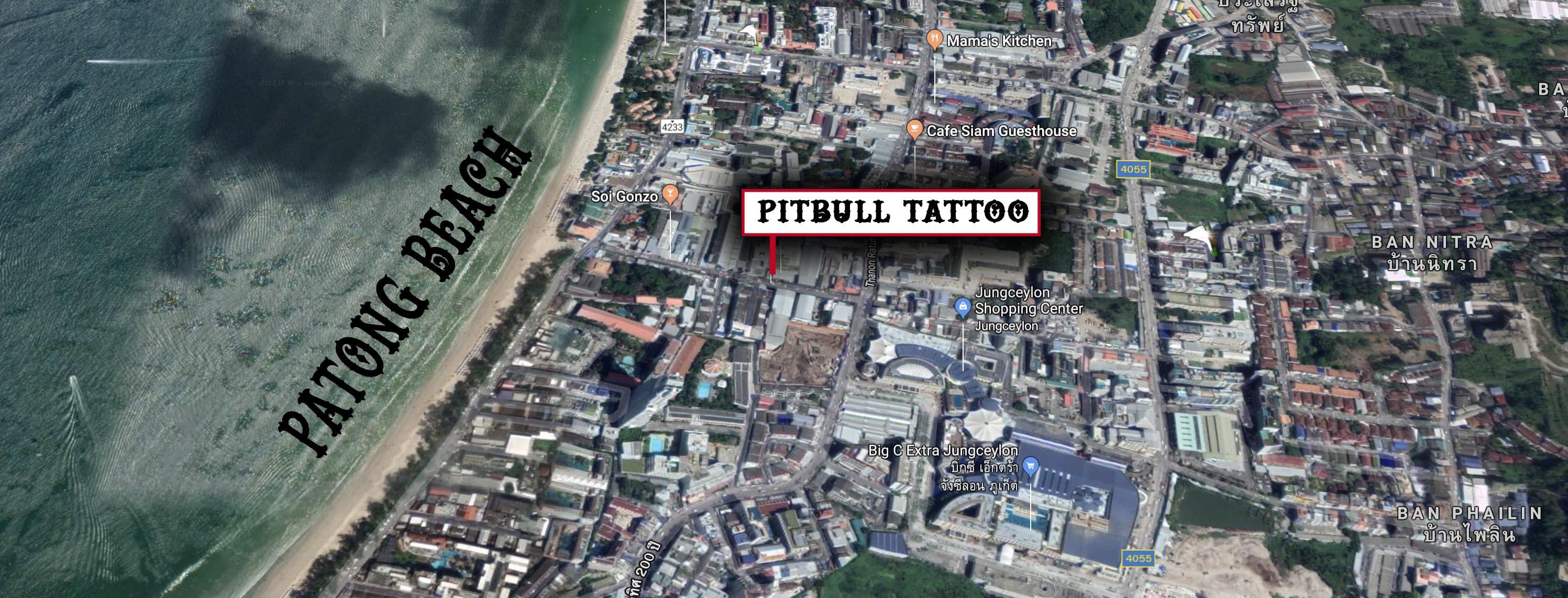 pitbull tattoo thailand location phuket patong