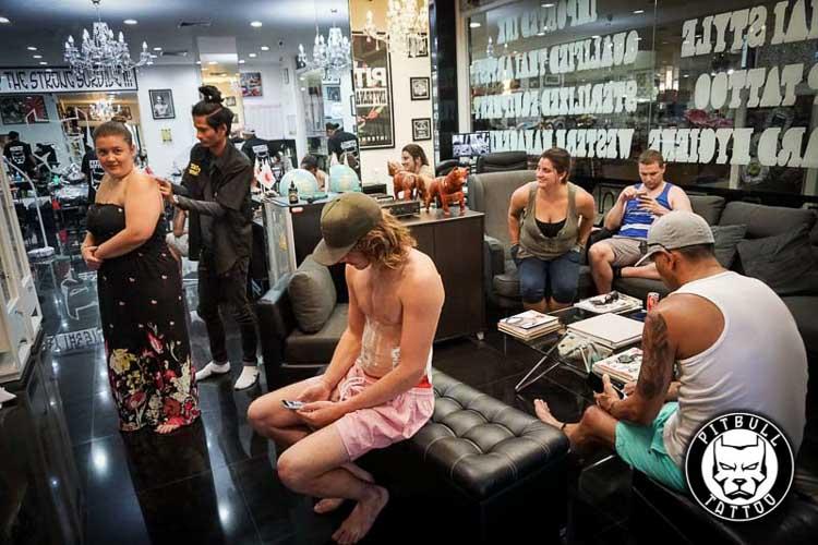 Best Tattoo Studio Phuket