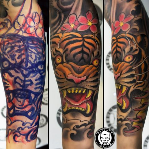Freehand tattoos by Pitbull Tattoo Phuket - Gallery