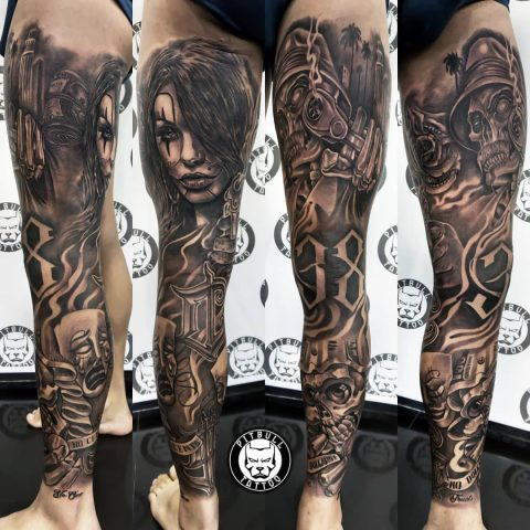 Tattoo by Pitbull Tattoo Phuket Artist Joe