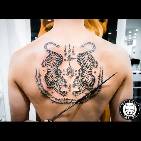 Tattoo by Pitbull Tattoo Phuket Artist Mediaw