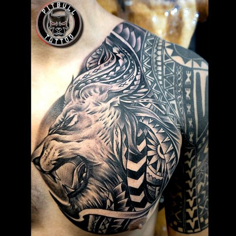 Tattoo by Pitbull Tattoo Phuket Artist Nek