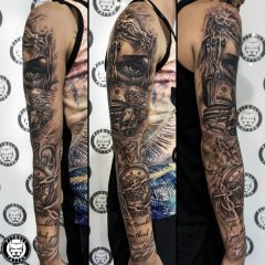 Tattoo by Pitbull Tattoo Phuket Artist Ton