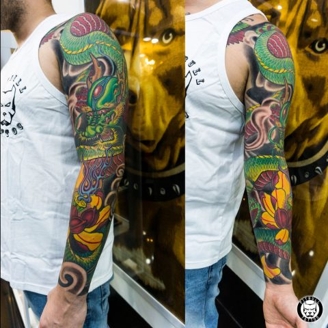 Tattoo by Pitbull Tattoo Phuket Artist Tony