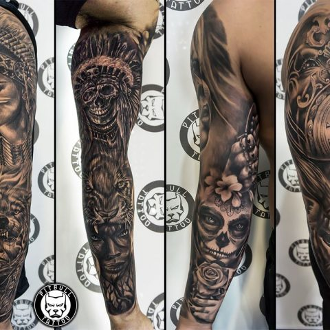 Black and grey tattoos - Everything you need to know