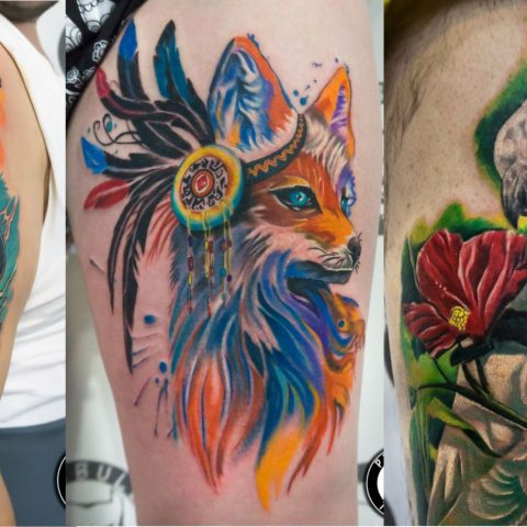 Color tattoos by Pitbull Tattoo Phuket - Gallery