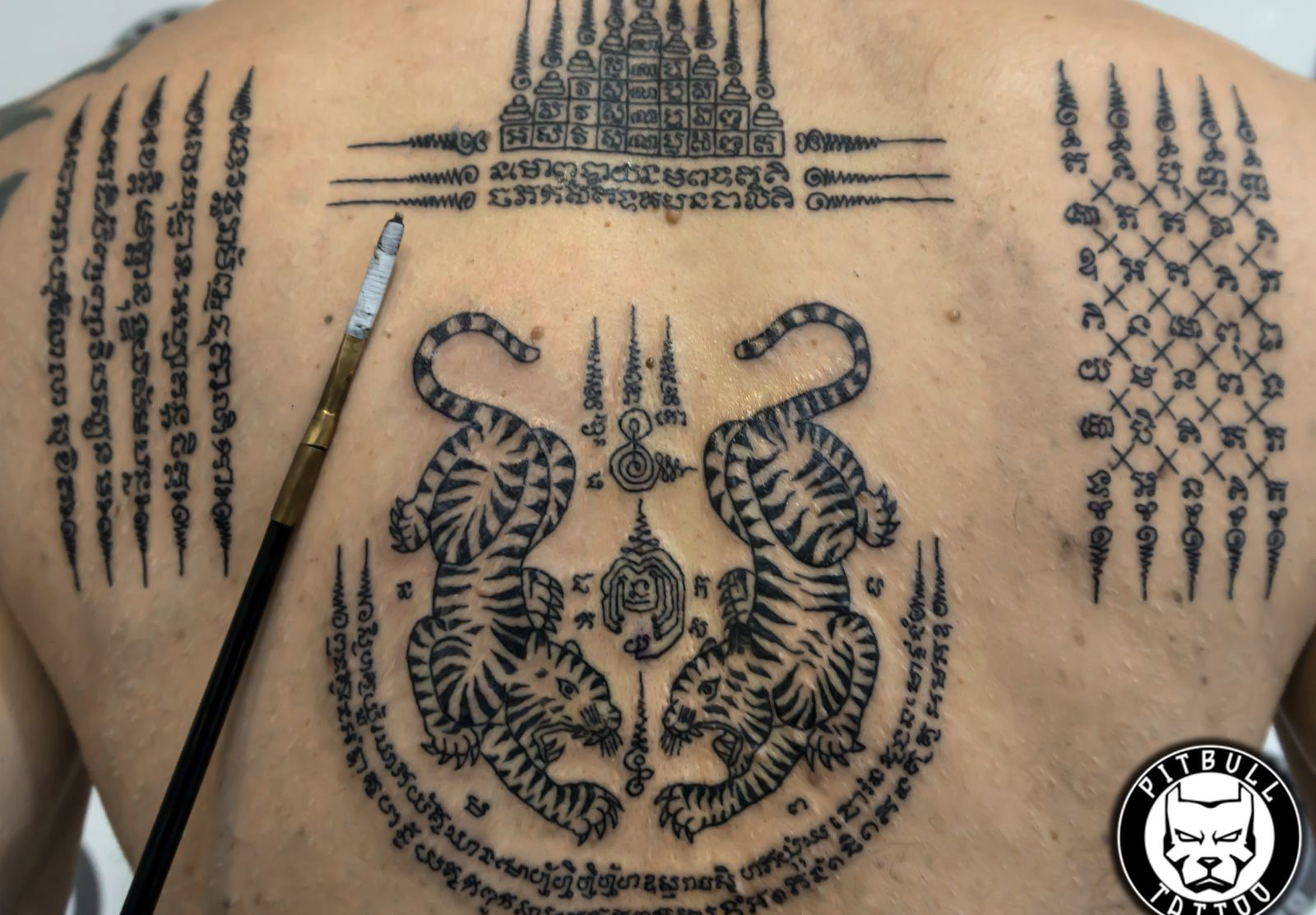 Tattoo chicago yant sak THAI TATTOO